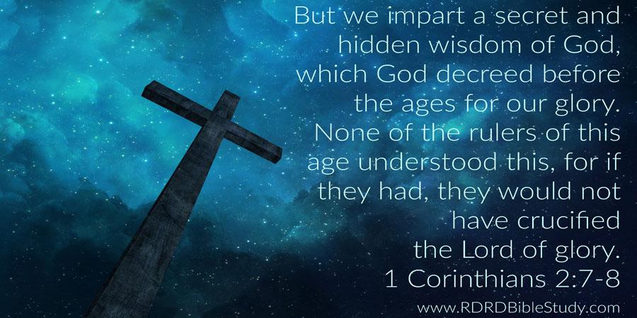 Sarah Watching 1 Corinthians 1 2 7-8