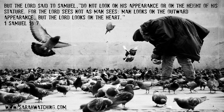 Sarah Watching 1 Samuel 16 7