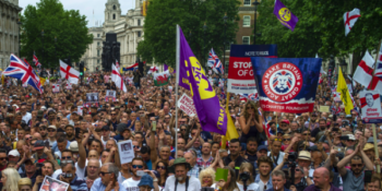 'Islam Means Submission. Will You Submit, Or Resist?' – Batten, Waters, Kassam at #FreeTommy Rally