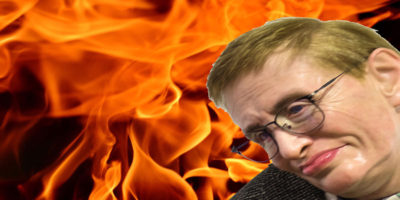 Sarah Watching Sheol Flame Stephen Hawking Declares Right On Global Warming
