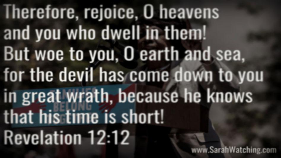 Sarah Watching Revelation 12 12