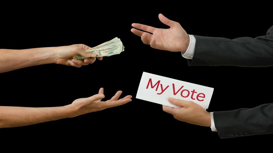 Sarah Watching Democrat Campaign Corruption Buy Votes