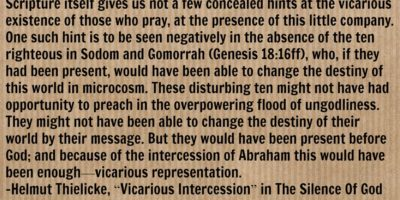 HT Vicarious Intercession Sodom and Gomorrah