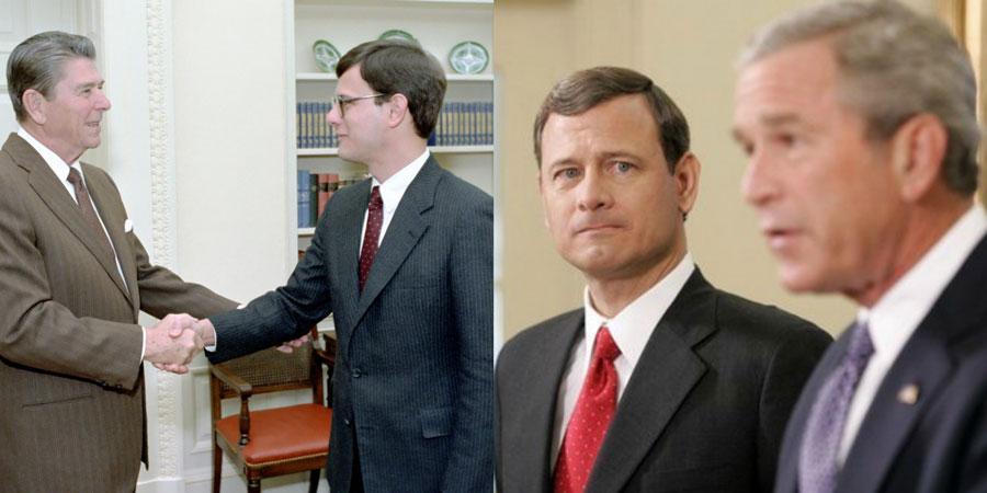 Sarah Watching Chief Justice John Roberts Ignores Obama FISA Scandal