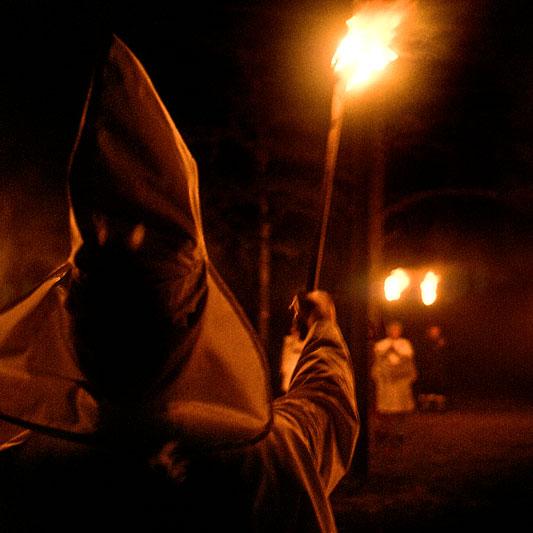 Sarah Watching Democrat Klansman KKK Hugo Black Reminiscing