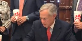 gov.-greg-abbott-signs-chick-fil-a-bill-into-law-to-'protect-religious-liberty'